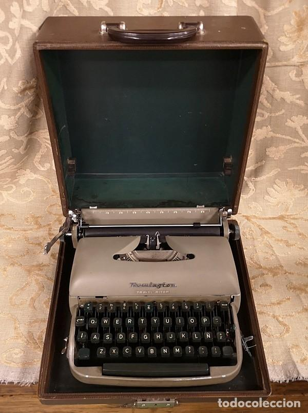 Antigüedades: Máquina de Escribir Remington Travel Riter - Foto 2 - 201585812