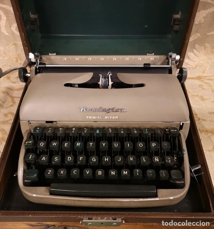 Antigüedades: Máquina de Escribir Remington Travel Riter - Foto 3 - 201585812
