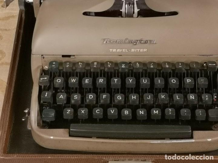 Antigüedades: Máquina de Escribir Remington Travel Riter - Foto 4 - 201585812
