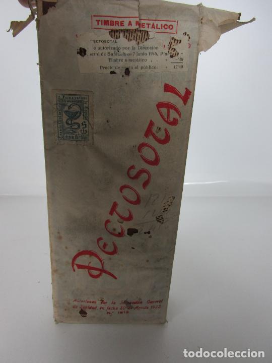 Antigüedades: Medicamento - Pectosotal - Laboratorio Farmacéutico J. P Palá - Medicamento Respiratorio - 1922 - Foto 2 - 201586925