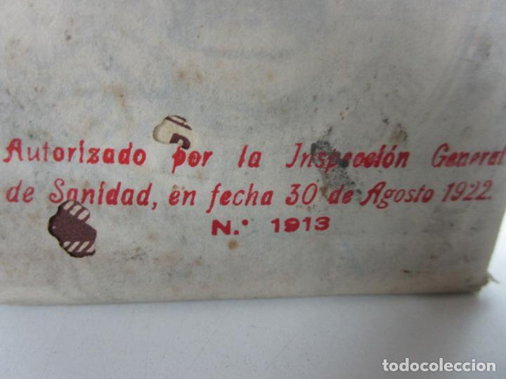 Antigüedades: Medicamento - Pectosotal - Laboratorio Farmacéutico J. P Palá - Medicamento Respiratorio - 1922 - Foto 3 - 201586925