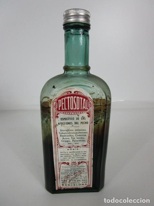 Antigüedades: Medicamento - Pectosotal - Laboratorio Farmacéutico J. P Palá - Medicamento Respiratorio - 1922 - Foto 5 - 201586925