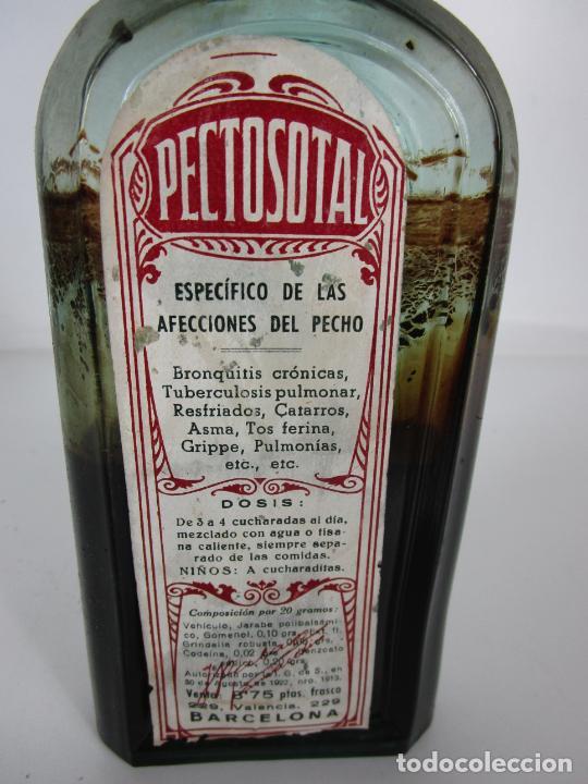 Antigüedades: Medicamento - Pectosotal - Laboratorio Farmacéutico J. P Palá - Medicamento Respiratorio - 1922 - Foto 6 - 201586925