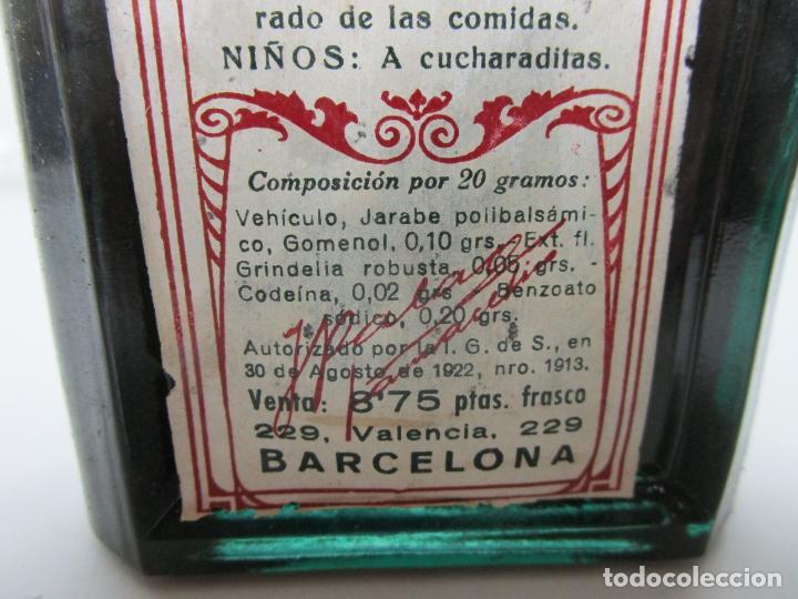 Antigüedades: Medicamento - Pectosotal - Laboratorio Farmacéutico J. P Palá - Medicamento Respiratorio - 1922 - Foto 7 - 201586925
