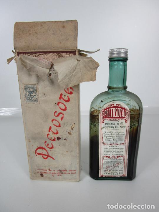 Antigüedades: Medicamento - Pectosotal - Laboratorio Farmacéutico J. P Palá - Medicamento Respiratorio - 1922 - Foto 18 - 201586925