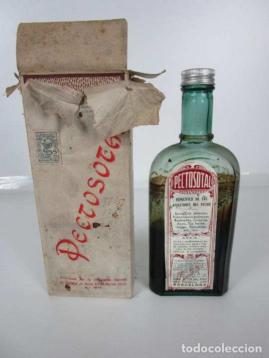 MEDICAMENTO - PECTOSOTAL - LABORATORIO FARMACÉUTICO J. P PALÁ - MEDICAMENTO RESPIRATORIO - 1922 (Antigüedades - Técnicas - Herramientas Profesionales - Medicina)
