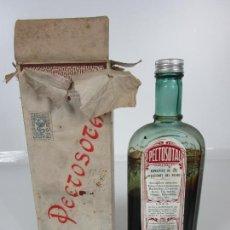 Antigüedades: MEDICAMENTO - PECTOSOTAL - LABORATORIO FARMACÉUTICO J. P PALÁ - MEDICAMENTO RESPIRATORIO - 1922. Lote 201586925