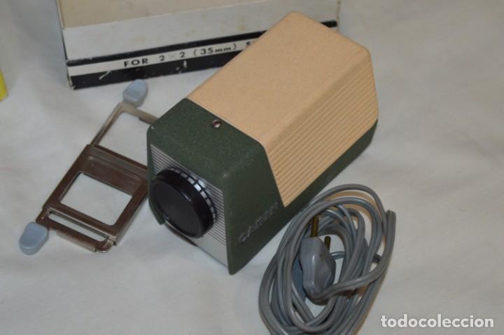 Antigüedades: CABIN - Proyector de diapositivas / 2 x 2 (35 mm.) - Buen estado / SIN LÁMPARA ¡Mira fotos/detalles! - Foto 3 - 201609093
