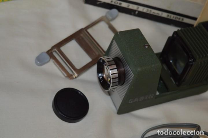 Antigüedades: CABIN - Proyector de diapositivas / 2 x 2 (35 mm.) - Buen estado / SIN LÁMPARA ¡Mira fotos/detalles! - Foto 5 - 201609093