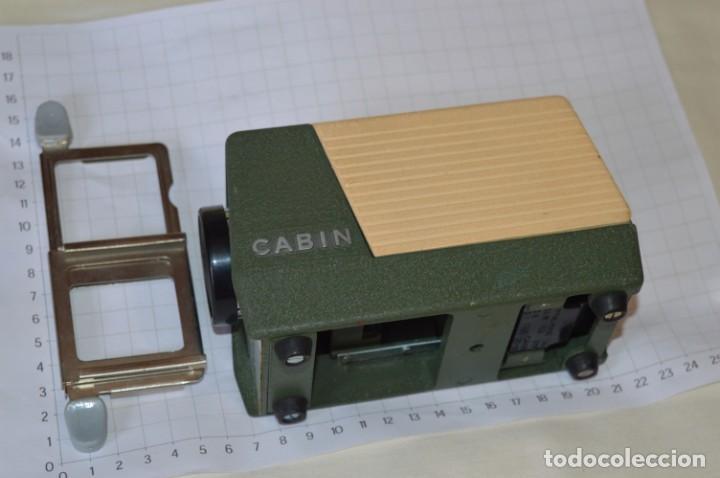 Antigüedades: CABIN - Proyector de diapositivas / 2 x 2 (35 mm.) - Buen estado / SIN LÁMPARA ¡Mira fotos/detalles! - Foto 6 - 201609093