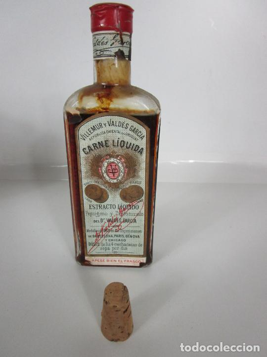 Antigüedades: Medicamento Tónico Nutritivo - Carne Liquida - Villemur y Valdés Garcia - Uruguay - Nuevo - 1896 - Foto 10 - 201644541