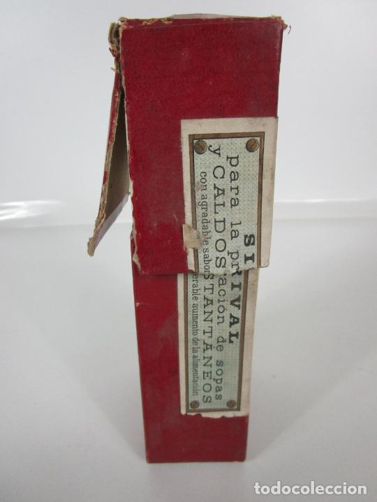 Antigüedades: Medicamento Tónico Nutritivo - Carne Liquida - Villemur y Valdés Garcia - Uruguay - Nuevo - 1896 - Foto 21 - 201644541