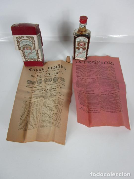 Antigüedades: Medicamento Tónico Nutritivo - Carne Liquida - Villemur y Valdés Garcia - Uruguay - Nuevo - 1896 - Foto 22 - 201644541