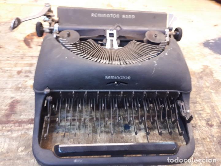 MÁQUINA ESCRIBIR REMINGTON. SIN TECLAS. (Antigüedades - Técnicas - Máquinas de Escribir Antiguas - Remington)