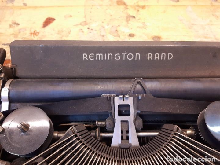 Antigüedades: Máquina escribir Remington. Sin teclas. - Foto 4 - 201686398