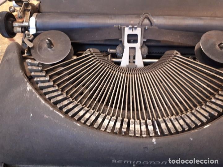 Antigüedades: Máquina escribir Remington. Sin teclas. - Foto 5 - 201686398