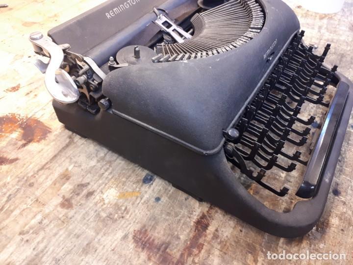 Antigüedades: Máquina escribir Remington. Sin teclas. - Foto 6 - 201686398