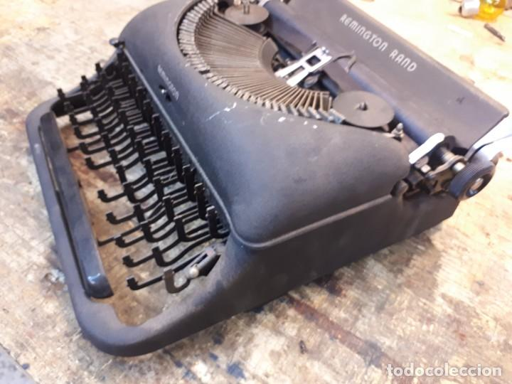 Antigüedades: Máquina escribir Remington. Sin teclas. - Foto 7 - 201686398