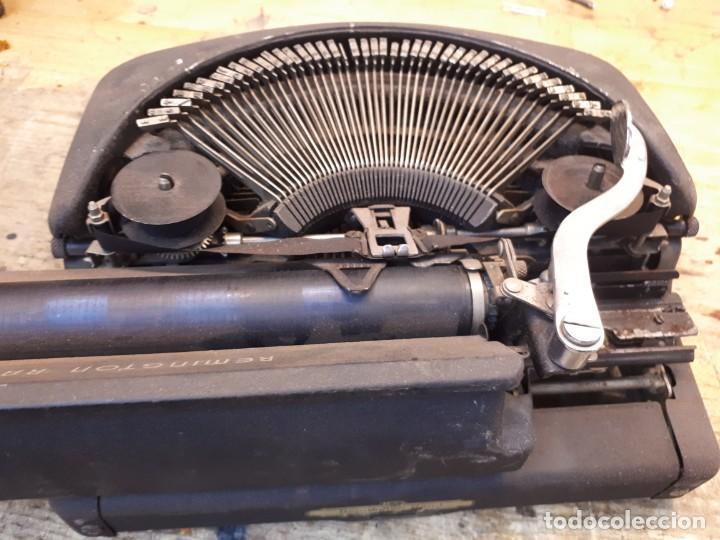 Antigüedades: Máquina escribir Remington. Sin teclas. - Foto 12 - 201686398