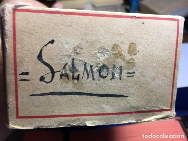 Antigüedades: CAJA DE CINTAS COLOR SALMON DMC - Foto 5 - 201744837