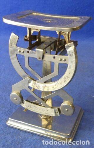 REF.A16 BASCULA BILATERAL HASTA 250GRAMOS FUNCIONAL (Antigüedades - Técnicas - Medidas de Peso - Básculas Antiguas)