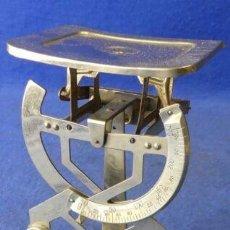 Antigüedades: BASCULA BILATERAL HASTA 250GRAMOS FUNCIONAL. Lote 201749800