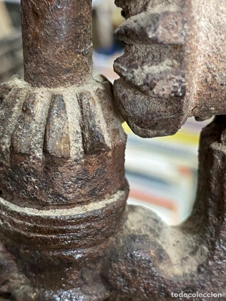 Antigüedades: Gran molinillo Peugeot Aines & Cia Pont de Roide- Modelo 1877 - Foto 10 - 172866015