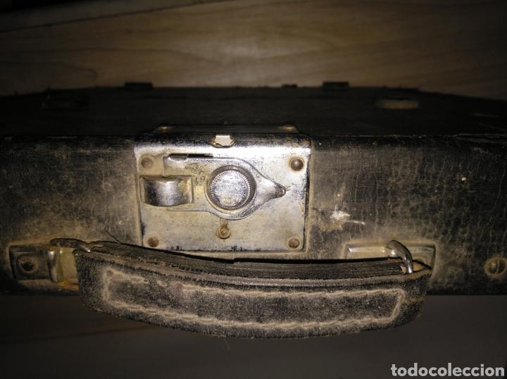 Antigüedades: Maquina de escribir Continental lujo color carey. - Foto 11 - 201798832