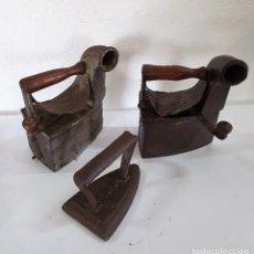 Antigüedades: LOTE DE 3 PLANCHAS ANTIGUAS. Lote 201815698