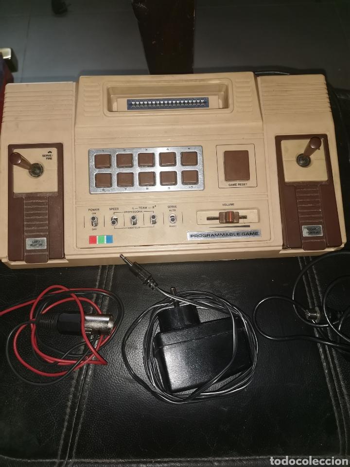 VIDEOCONSOLA ORIGINAL AÑOS 70. (Antigüedades - Técnicas - Ordenadores hasta 16 bits (anteriores a 1982))