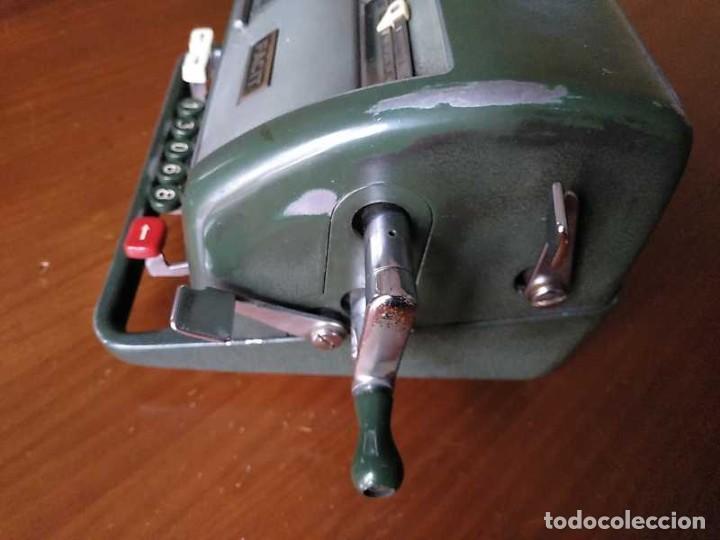 Antigüedades: CALCULADORA FACIT NTK DE 1954 ESTA BLOQUEADA CALCULATOR RECHENMASCHINE - Foto 23 - 201972675