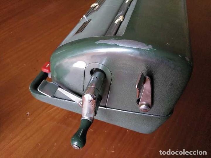 Antigüedades: CALCULADORA FACIT NTK DE 1954 ESTA BLOQUEADA CALCULATOR RECHENMASCHINE - Foto 112 - 201972675