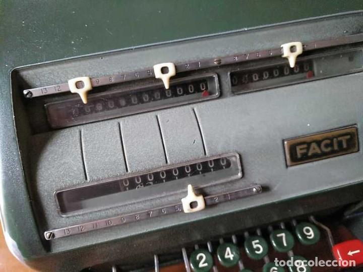 Antigüedades: CALCULADORA FACIT NTK DE 1954 ESTA BLOQUEADA CALCULATOR RECHENMASCHINE - Foto 120 - 201972675