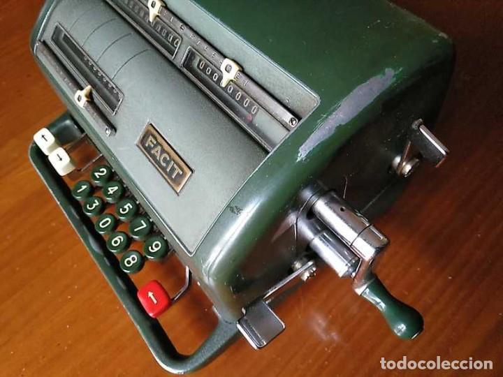 Antigüedades: CALCULADORA FACIT NTK DE 1954 ESTA BLOQUEADA CALCULATOR RECHENMASCHINE - Foto 121 - 201972675