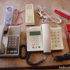Teléfonos: LOTE: CINCO TELÉFONOS ANTIGUOS FUNCIONANDO.. Lote 201992902
