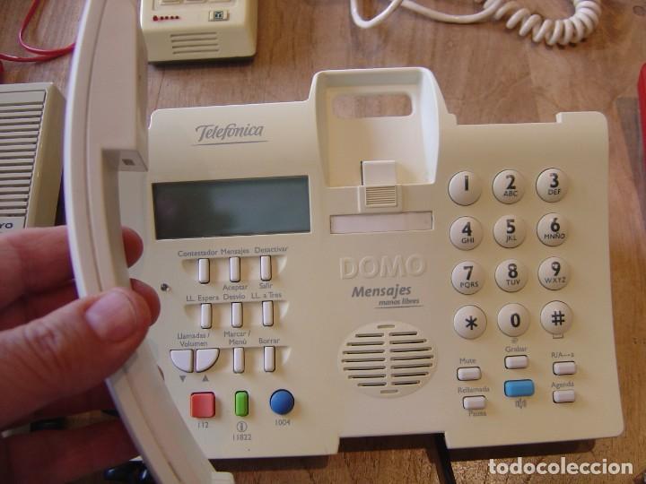 Teléfonos: LOTE: CINCO TELÉFONOS ANTIGUOS FUNCIONANDO. - Foto 3 - 201992902