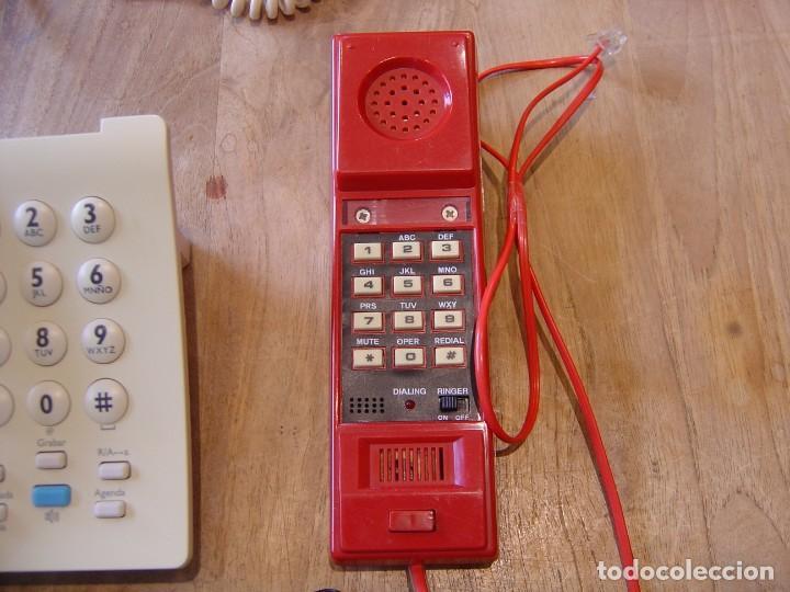Teléfonos: LOTE: CINCO TELÉFONOS ANTIGUOS FUNCIONANDO. - Foto 4 - 201992902