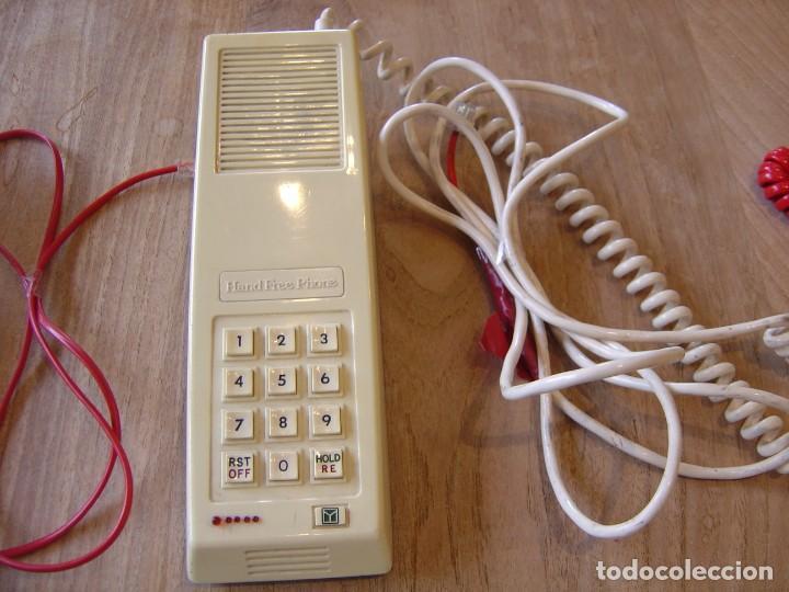 Teléfonos: LOTE: CINCO TELÉFONOS ANTIGUOS FUNCIONANDO. - Foto 5 - 201992902