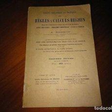 Antigüedades: 1931 TRAITÉ THÉORIQUE ET PRATIQUE DES RÈGLES A CALCULS BEGHIN REGLE A CALCUL REGLA DE CALCULO. Lote 202008570