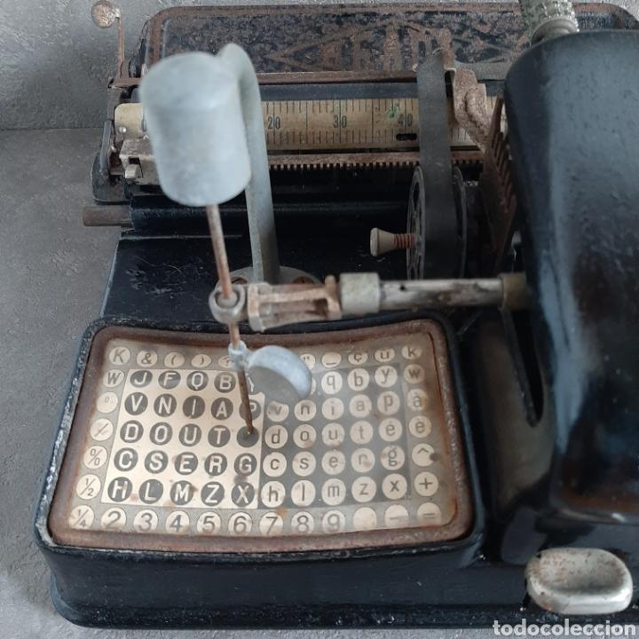 Antigüedades: Antigua Máquina de Escribir Ready / Tipo Mignon / p.p. 1900 - Foto 2 - 192368345