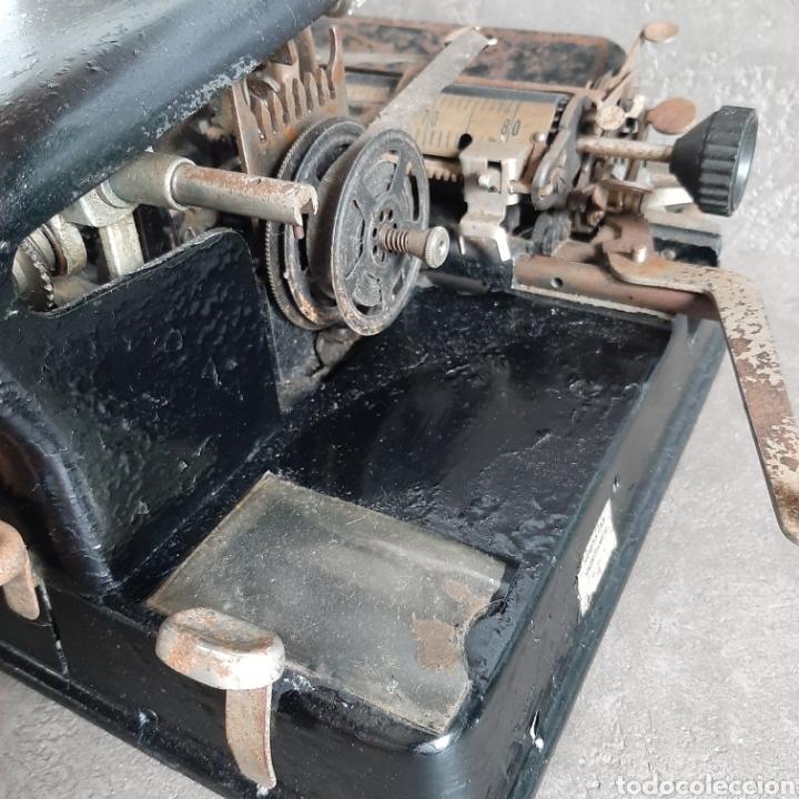 Antigüedades: Antigua Máquina de Escribir Ready / Tipo Mignon / p.p. 1900 - Foto 4 - 192368345