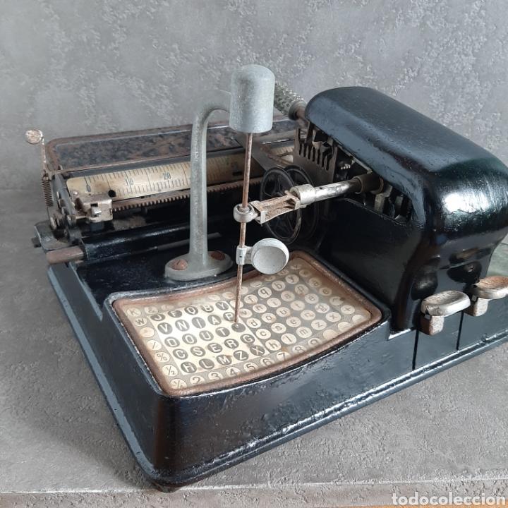 Antigüedades: Antigua Máquina de Escribir Ready / Tipo Mignon / p.p. 1900 - Foto 5 - 192368345
