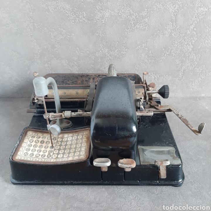 ANTIGUA MÁQUINA DE ESCRIBIR READY / TIPO MIGNON / P.P. 1900 (Antigüedades - Técnicas - Máquinas de Escribir Antiguas - Mignon)