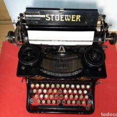 Antigüedades: ÁNTIGUA MAQUINA DE ESCRIBIR STOEWER RECORD. Lote 202094540