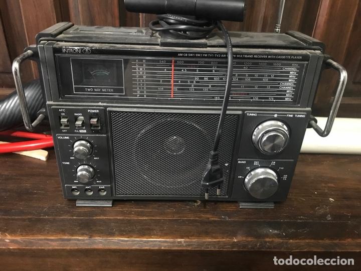 RADIO INTRÓN ANTIGUA (Antigüedades - Técnicas - Varios)