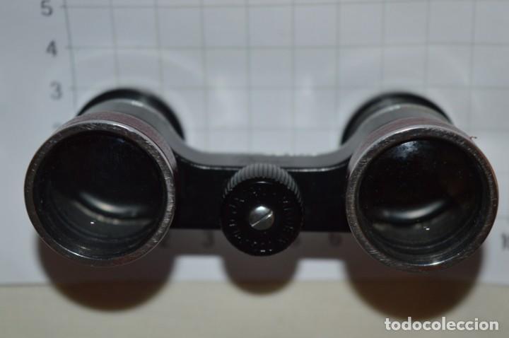 Antigüedades: Vintage - Pequeños gemelos / prismáticos opera o teatro, con su funda - Made In JAPAN ¡Mira fotos! - Foto 8 - 202274285