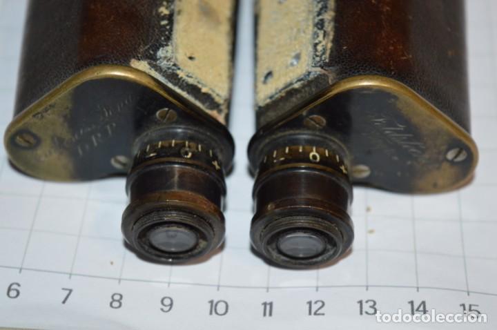 Antigüedades: Vintage -- Prismáticos Carl Zeiss Jena DRP / Feldstecher 8 -- Finales 1800/Principios 1900 ¡Mira! - Foto 2 - 202277467