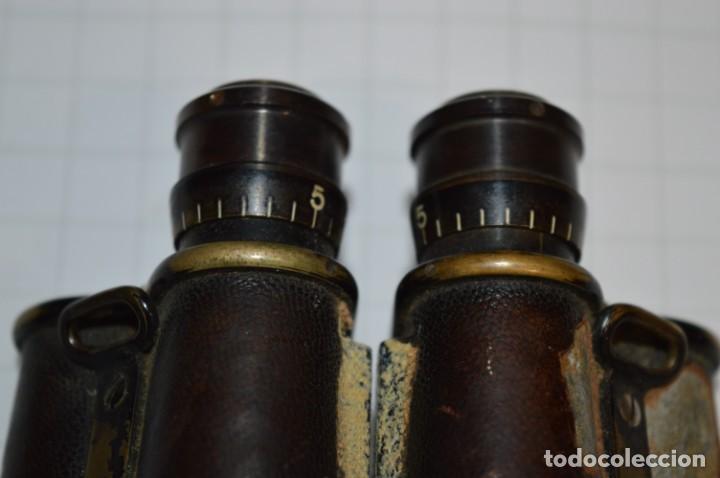 Antigüedades: Vintage -- Prismáticos Carl Zeiss Jena DRP / Feldstecher 8 -- Finales 1800/Principios 1900 ¡Mira! - Foto 13 - 202277467