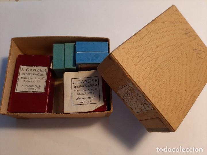 Antigüedades: Finos cristales para preparaciones microscópicas - Foto 2 - 202355545