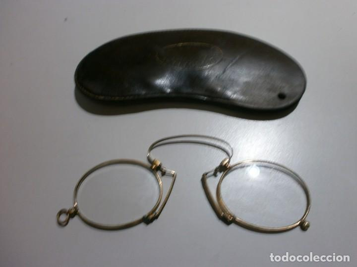 ANTIGUAS GAFAS SIGLO XIX (Antigüedades - Técnicas - Instrumentos Ópticos - Gafas Antiguas)